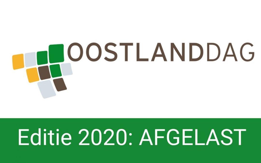 Oostlanddag 2020: AFGELAST